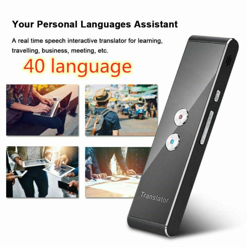 Translaty MUAMA Enence Smart Instant Real Time Voice 40 Languages Translator US