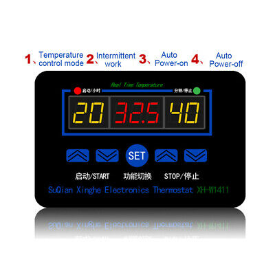 10a 12220v Electronic Digital Temperature Controller Thermostat Control Switch
