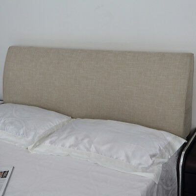 Soft Headboard Triangular Wedge Reading Support pillow for Queen King Bed  Size ()