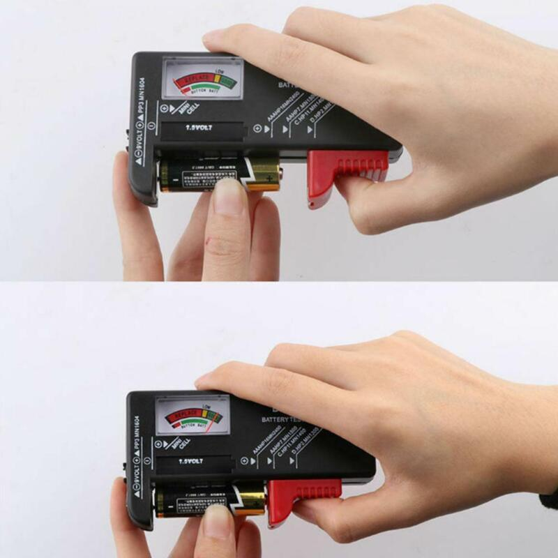Battery Tester Tool Button Checker Accessory Low Power Universal Portable F1Q6 - $7.62