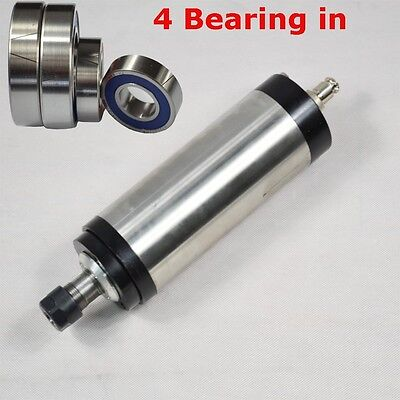 Four Bearing 2.2kw Water-cooled Spindle Motor Engraving Milling Grinding Cnc