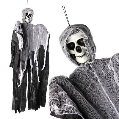 DIY Skeleton Hanging Ghost Horror Haunted House Grim Reaper Prop Halloween Decor - Haunted Decorations