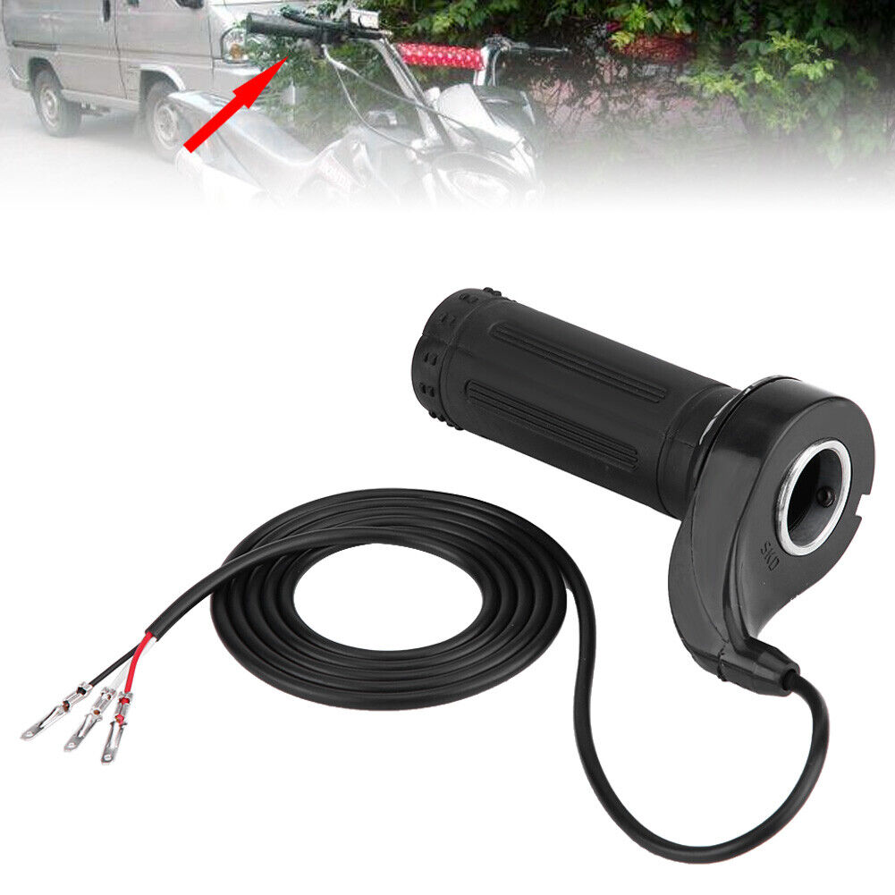Speed Control Throttle Grip Handle For Electric Bicycle Motorcycle Pocket Bikes