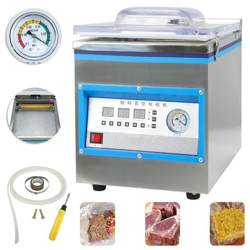 Commercial Vacuum Packing Sealing Machine Sealer 360W Chamber Fresh 110V