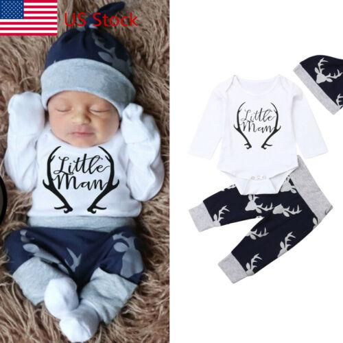 newborn baby boy clothes little man romper