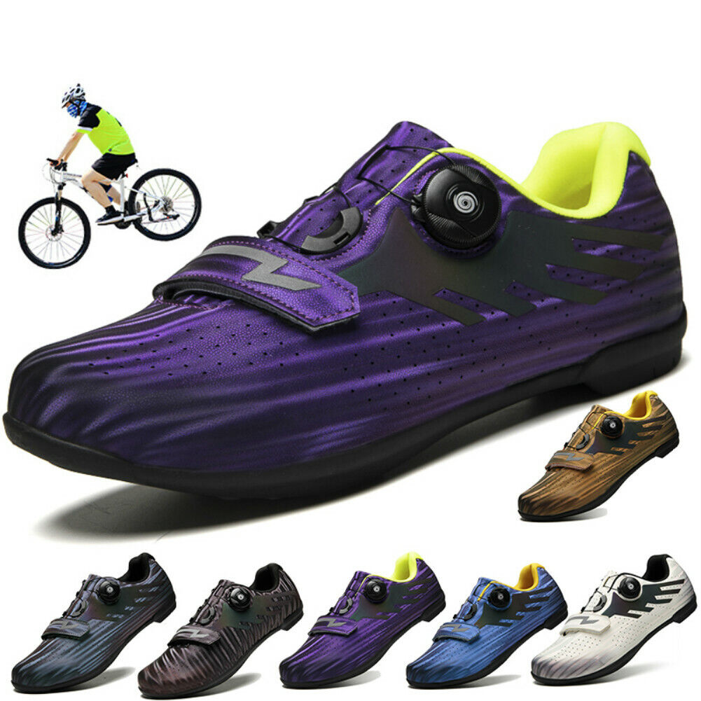 Professional Outdoor Road Cycling Shoes Trainers Bike Sneaker Bicycle Racing Gym