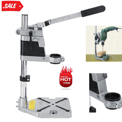 Clamp Drill Press Stand Adjustable Workbench Repair Tool for