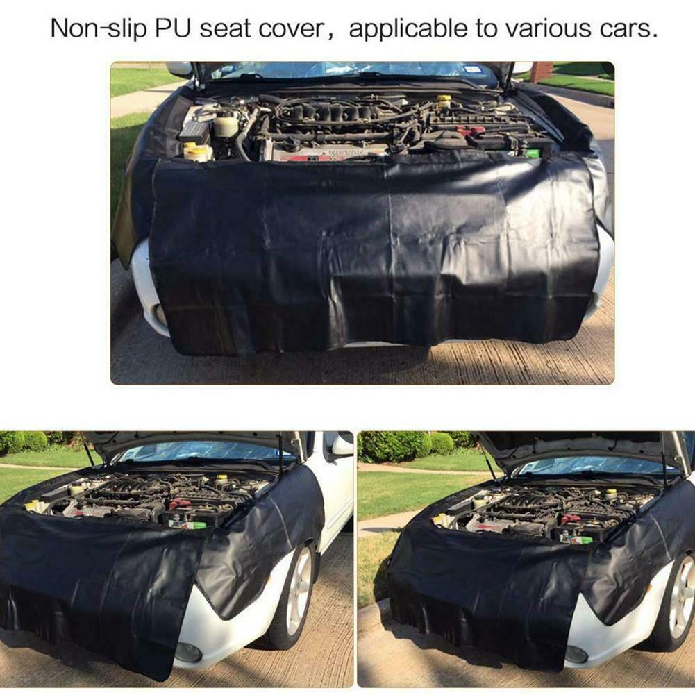 Automotive Mechanic Magnetic Car Fender Cover Mat Pad Set Paintwork Repair Tool