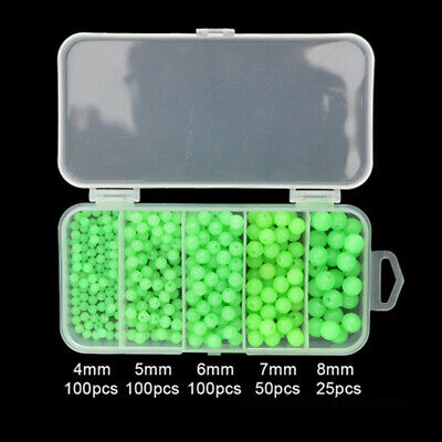 Chartreuse 6mm Round Beads 500pc USA for crafts fishing jewelry