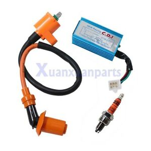 5 Pin Racing CDI + Ignition Coil for Honda XR 50 CRF 50 110cc 125cc pit bike New
