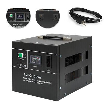 Voltage Stabilizer Automatic Experiment Lab Ac Regulator Svc-3000va 150-250v