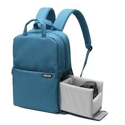 Beaspire Professional Fashion Camera Bag DSLR/SLR/Laptop Backpack Waterproof-Blu