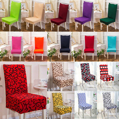 Chair Cover Elastic Banquet Washable Seat Home Hotel Wedding Supplies Decoration](Banquet Supplies)