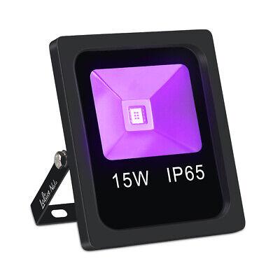 Black Lights For Parties (Flood Black Light IP65 Waterproof COB UV LED Glow Lights for Party)