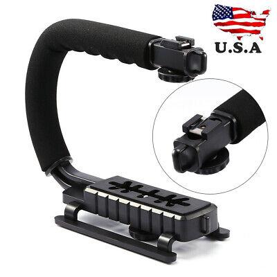 C/U Shape Bracket Handle Grip SLR Camera Handheld Stabilizer Camcorder Video