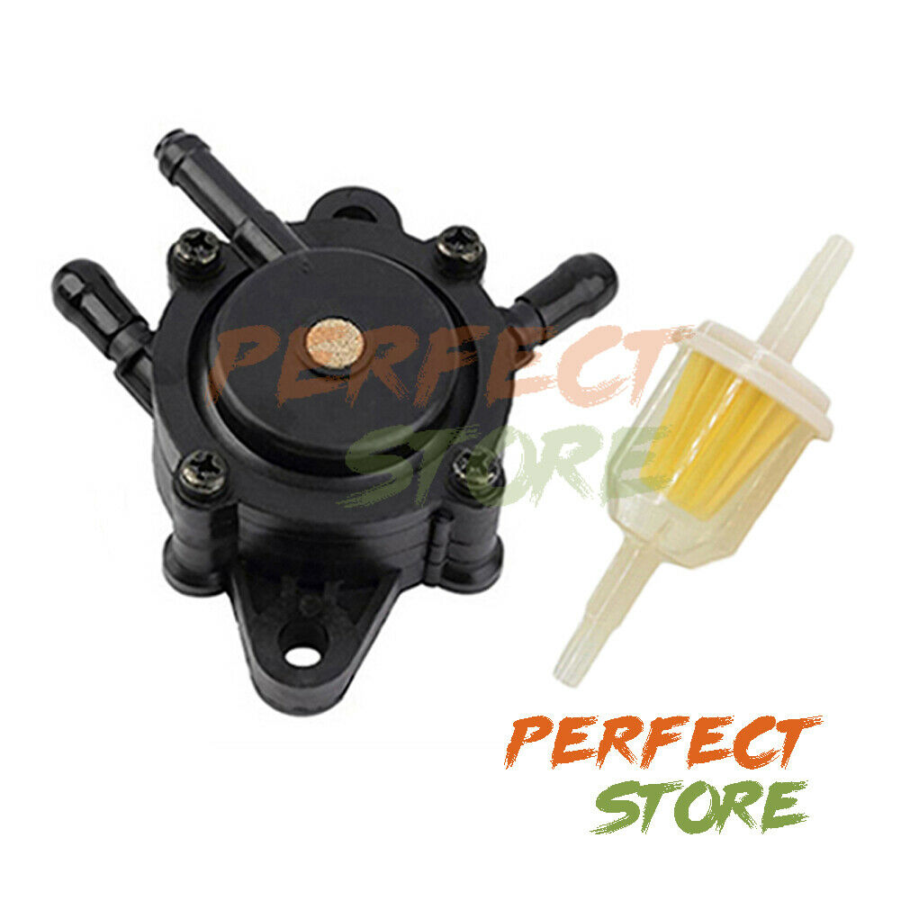 Fuel Pump w Filter JD L107 X125 X145 X110 X120 L105 LA120 LA130 LA135 LA145 D130