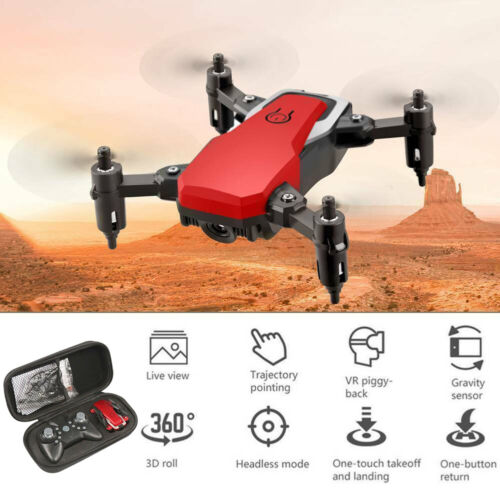 2.4G Aerial Camera WIFI FPV 4K HD Folding Remote Control Drone Mini Quadcopter