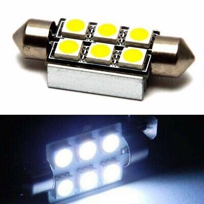Neu 36mmWeiß Kennzeichenbeleuchtung Nummernschildbeleuchtung Lampen Birne CANBUS