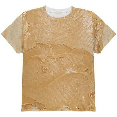 Halloween Peanut Butter PB Sandwich Costume All Over Youth T Shirt