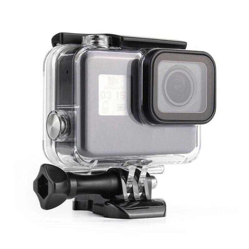FOR GoPro Hero 5 6 7 Black Underwater Waterproof Dive Case Housing Transparent