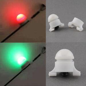 NEW Quality Night Fishing Rod Tip Clip on Fish Bite Alarm Strike Alert LED!!!!!