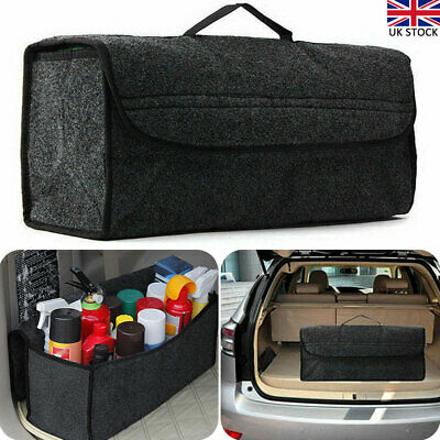Boot Organiser Large Car Vehicle Carpet Storage Bag Tools Boot Tidy Grey...