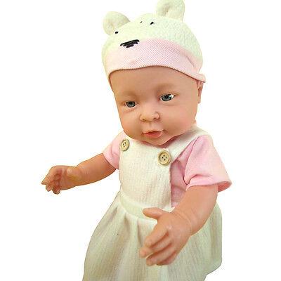 Baby Doll Reborn Lifelike Vinyl Newborn Girl Handmade Silicone 17