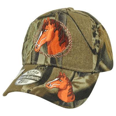 Reiten Rodeo Cowboy Camouflage Mustang Draußen Land Mütze (Camouflage Cowboy Mütze)