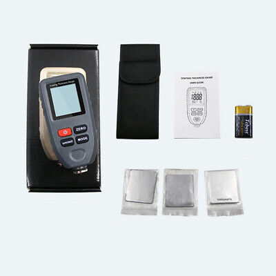 Lcd Digital Auto Paint Coating Thickness Gauge Tester Measuring Meter Ct-100