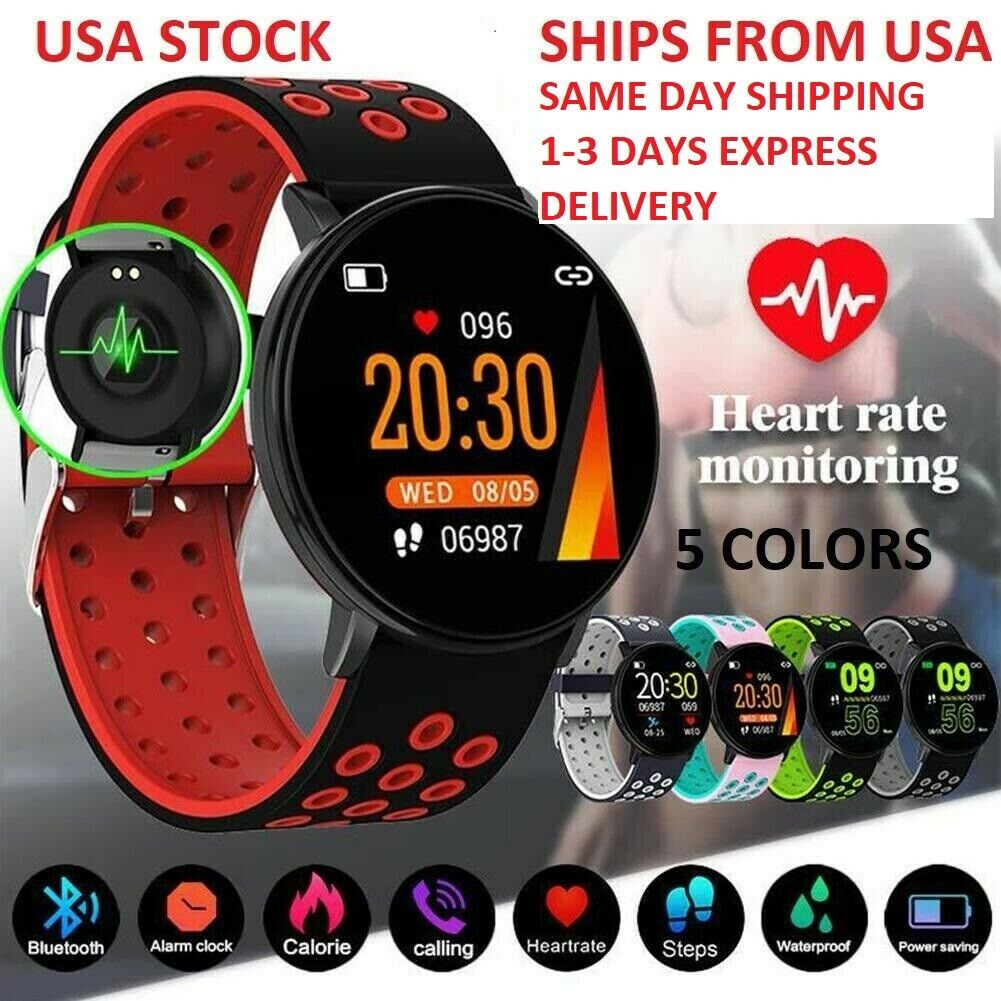 Smart Watch Android iOS Apple IPhone Heartrate Monitor Activ