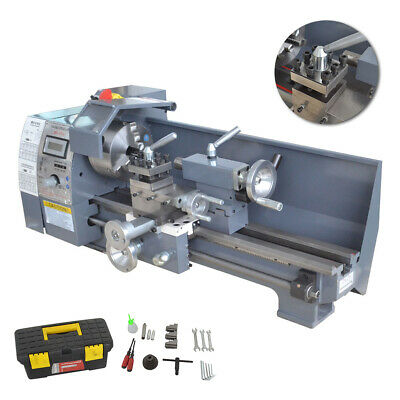 8x16 750w High Precision Mini Digital Metal Lathe Variable Speed Workbench