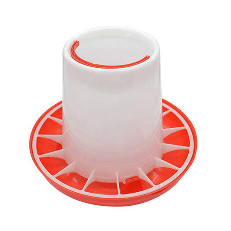 Automatic Chicken Feeder Food Drinker Chick Chook Waterer Poultry Chook-Coop