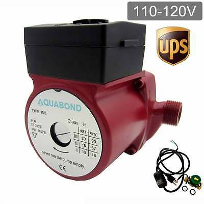 115vnpt 343-speed Automatic Household Hot Water Circulation Pump For Heater