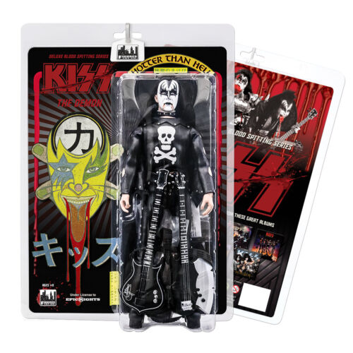 KISS The Demon Blood Spitting Hotter Than Hell Deluxe 12 Inch Action Figures