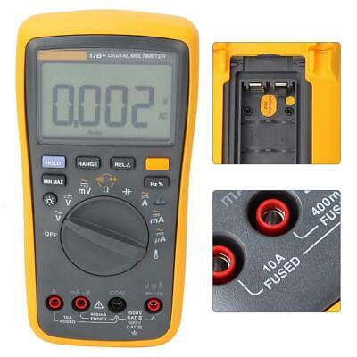Fluke 17b Digital Multimeter Ac Dc Meter Tester With Tl75 Test Leads New