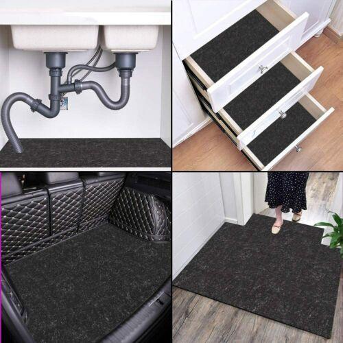 """Under The Sink Mat (36"""" X 24"""") Premium Shelf Liner, Cabinet Mat – Absorbent/wate"""