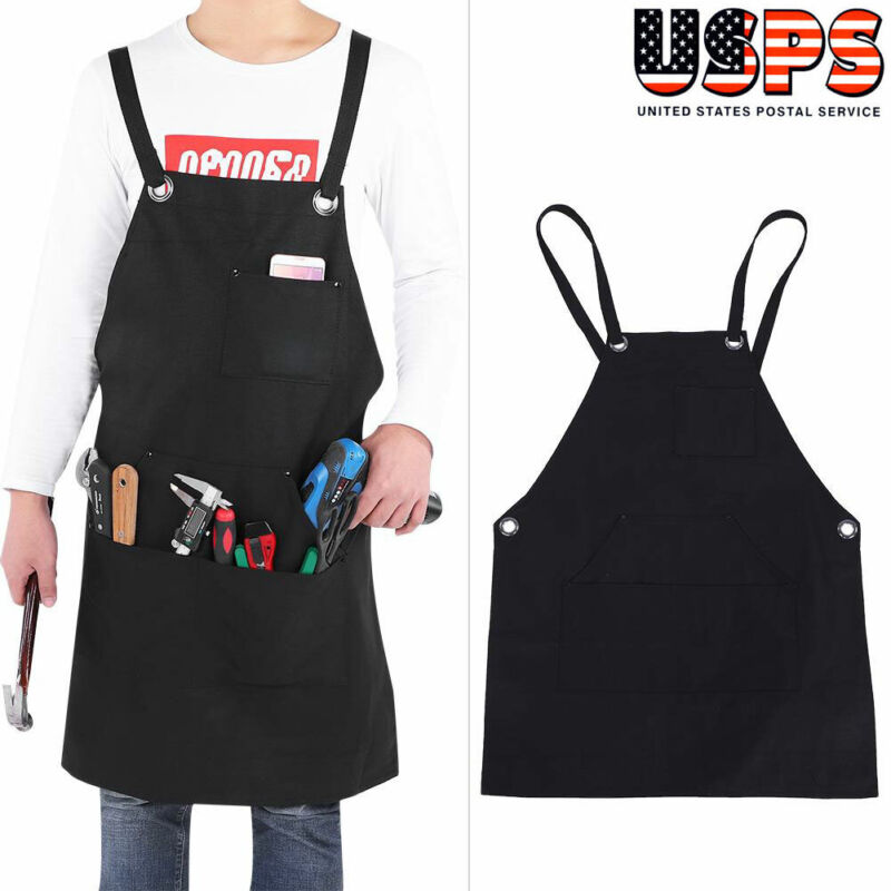 Waxed Canvas Welding Apron Welder Protective Clothing Mechanic Protective Gear