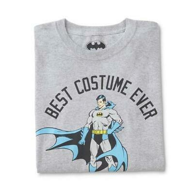 Batman Men's T-Shirt Grey Halloween Best Costume Ever Shirt - Best Halloween Costumes Ever For Men