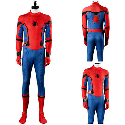 2017 Movie Spider-Man Homecoming Spiderman Civil War Cosplay Costume Outfit Suit](Civil War Outfits)