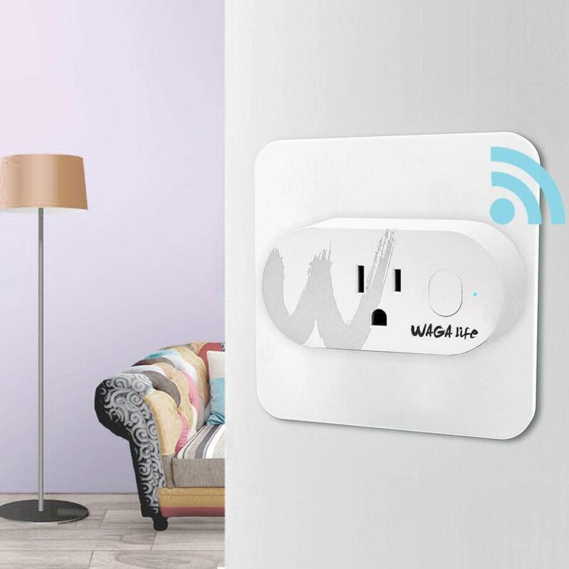 Mini Wi-Fi Smart Plug Sockets 2.4GHz 16A Max Load Wireless S