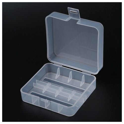 2Pcs Hard Plastic Box Holder Storage Case Box Container for 2x 26650 Battery HOT