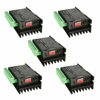 5pcs Stepper Motor Driver Tb6600 Nema Axis Stepping Motor Cnc Engraving Machine