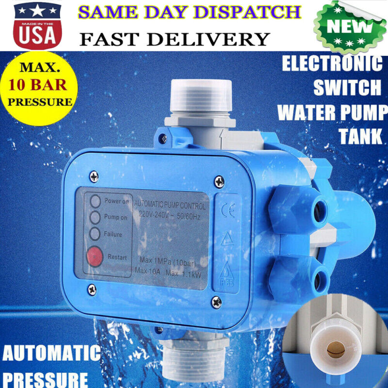 Automatic Electronic Switch Control Water Pump Pressure Controller 110V