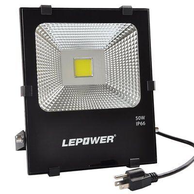50W New Craft LED Flood Lights, Super Bright Outdoor Work Light, 250W Halogen