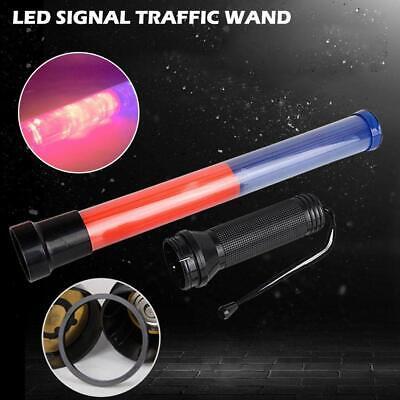 Traffic Safety Signal Led Road Control Warning Wand Baton Flashing Light Random