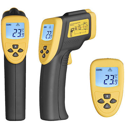 Non Contact Ir Infrared Digital Temperature Gun Thermometer Laser Dt8750 Em01