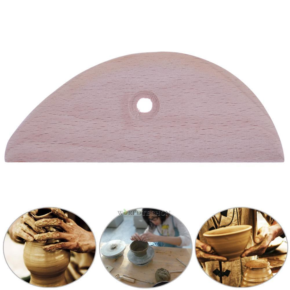 Wood Scraper MOREZMORE Polymer Clay Pottery Ceramics Cutter
