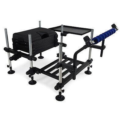 Match Station® 3D Mod-Box™ Seat Box, HD Footplate, Spray Bar & Side Tray