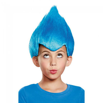 Blue Wacky Wig Child Thing 1 2 Gnome Clown Doll Costume Team Dr. Seuss - 90s Kid Halloween Costumes