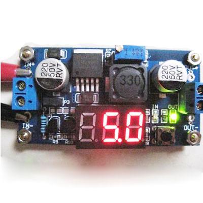 40/V nach1,25 35/V Arduino Bec r/égulateur de tension DC DC avec voltm/ètre LM2596S von3,2